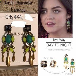 Stella & Dot Jardin Chandelier Earrings